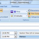 Outlook's Appointments and Time Zones
