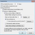Using Outlook's AutoArchive Feature