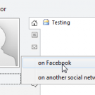 Outlook Social Connectors Add to Facebook page 404s