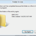 Can't Rename Windows Folder: Folder in Use Error