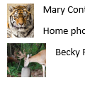 Print Contacts and Contact Photos
