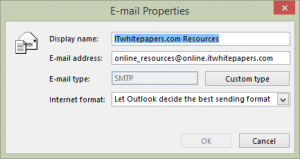Email properties