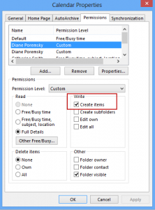 You need at least Create Permission to publish forms in other users mailboxes