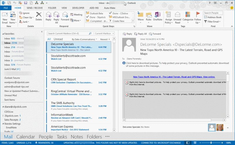 Download Microsoft Office Outlook 2013 Themes free software ...